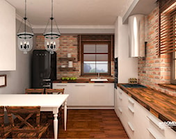 kuchnia perfekcyjnej pani domu - zdjęcie od Archomega Biuro Architektoniczne