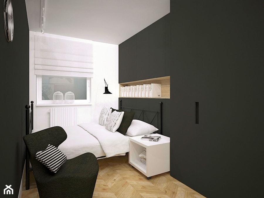 Czarno Biała łazienka I Sypialnia Zdjęcie Od Archomega
