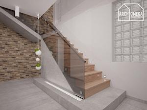 styl nowoczeny - parter domu - zdjęcie od Archomega Biuro Architektoniczne