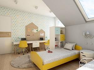 pokój dla dwójki dzieci - zdjęcie od Archomega Biuro Architektoniczne