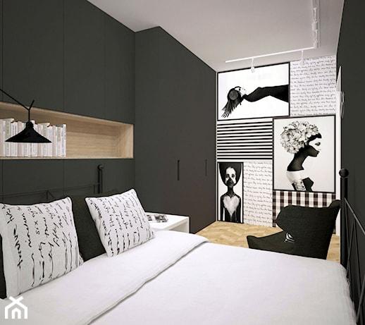 Sypialnia Czarno Biała Zdjęcia Pomysły Inspiracje Z Homebook