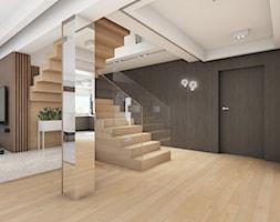 Projekt+domu+My%C5%9Blenice+-+zdj%C4%99cie+od+Archomega+Biuro+Architektoniczne