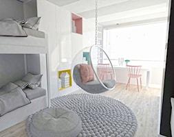 flaming - Średni pokój dziecka dla dziewczynki dla rodzeństwa dla malucha, styl nowoczesny - zdjęcie od Karolina Czapla