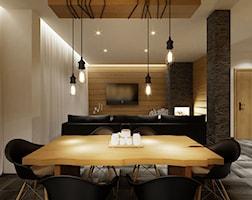 Jadalnia styl Nowoczesny - zdjęcie od PRØJEKTYW | Architektura Wnętrz & Design