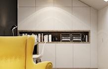 Biuro styl Skandynawski - zdjęcie od PRØJEKTYW | Architektura Wnętrz & Design
