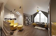 Sypialnia styl Skandynawski - zdjęcie od PRØJEKTYW | Architektura Wnętrz & Design