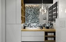 Łazienka styl Skandynawski - zdjęcie od PRØJEKTYW   Architektura Wnętrz & Design