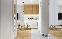 Hol / Przedpokój styl Skandynawski - zdjęcie od PRØJEKTYW | Architektura Wnętrz & Design