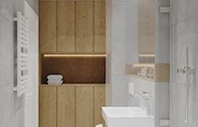 Łazienka styl Skandynawski - zdjęcie od PRØJEKTYW | Architektura Wnętrz & Design