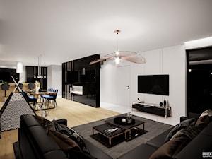 Projekt wnętrz domu w Malborku