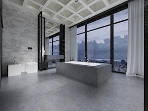 Projekt łazienki w stylu industrialnym