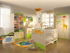 Kolekcje dziecięce - Średni beżowy pokój dziecka dla chłopca dla niemowlaka - zdjęcie od MEBLIK.pl