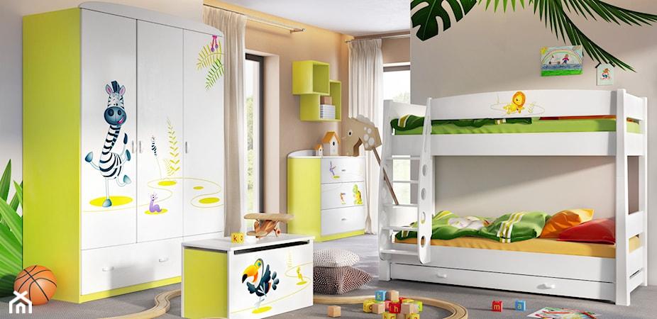 Jak stworzyć zaczarowany świat w pokoju dziecka? Zobacz kolekcję Happy Animals Green!