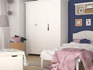Kolekcja ReStyle - Mały szary niebieski pokój dziecka dla chłopca dla dziewczynki dla malucha dla nastolatka, styl eklektyczny - zdjęcie od MEBLIK.pl