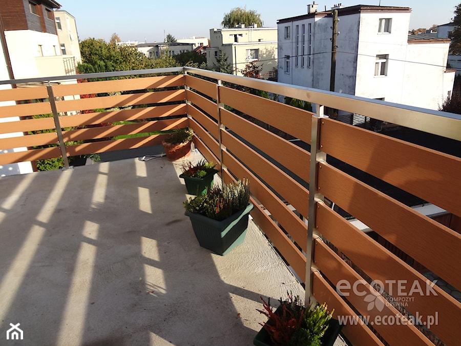 Niewiarygodnie Balustrada klasyczna z Kompozytu Drewna EcoTeak - zdjęcie od RA55