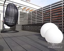 Tarasy - Średni taras na dachu - zdjęcie od EcoTeak