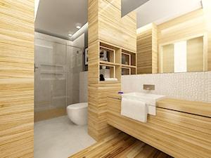 Łazienka dom Energooszczędny - zdjęcie od WW STUDIO ARCHITEKTONICZNE