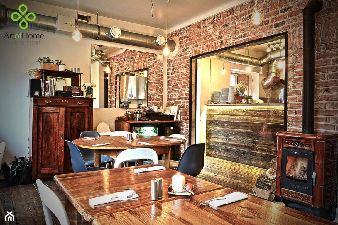 restauracja A NUŻ WIDELEC - Wnętrza publiczne, styl eklektyczny - zdjęcie od Art of Home - Homebook