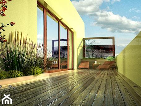 Projekt dużego balkonu - zdjęcie od w Moim Ogrodzie