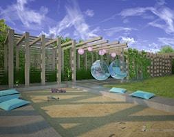 Ogród nowoczesny w Konstancinie Jeziornej - zdjęcie od w Moim Ogrodzie