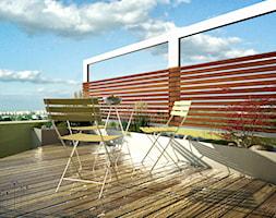 Projekt dużego balkonu - zdjęcie od w Moim Ogrodzie - Homebook