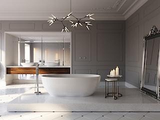 Łazienka w stylu francuskim, czyli sposób na elegancki salon kąpielowy