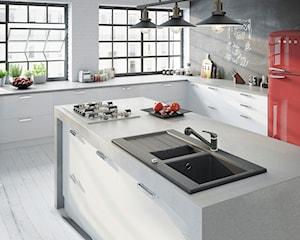 Bateria i zlewozmywak czyli granitowy design w nowoczesnej kuchni