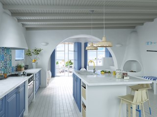 Kuchnia inspirowana stylem greckim i klimatem śródziemnomorskim – jak ją urządzić?