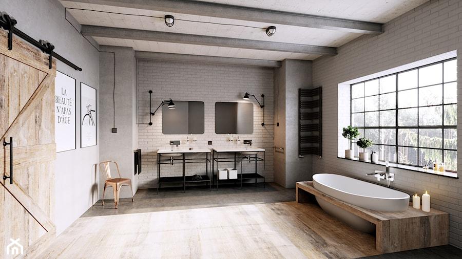 Łazienka - Łazienka, styl industrialny - zdjęcie od FERRO