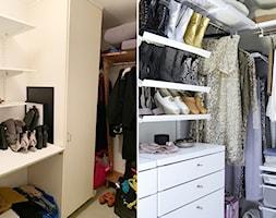 Metamorfoza garderoby - Garderoba - zdjęcie od Elfa - Homebook