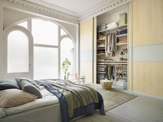 3 pomysły na przechowywanie rzeczy w sypialni