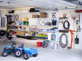 Jak przechowywać narzędzia ogrodowe? Zobacz systemy organizacji do garażu i pomieszczenia gospodarczego