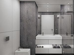 Łazienka minimalistyczna - zdjęcie od Interium Projekt