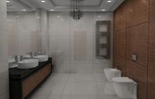 Łazienka styl Glamour - zdjęcie od Interium Projekt