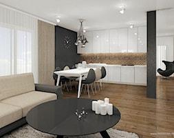 Zdjęcie: Salon a aneksem kuchennym i jadalnią