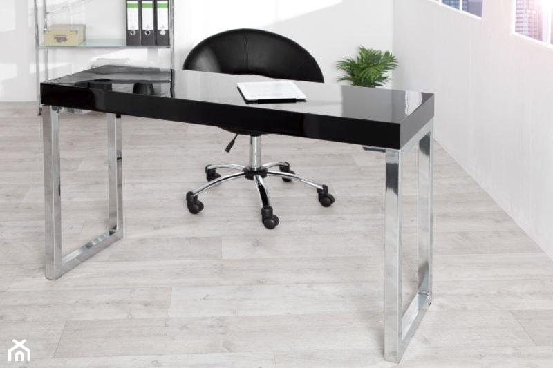 Świeże Nowoczesne czarne biurko, 120 cm - zdjęcie od onemarket.pl - meble ON01