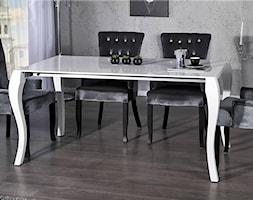 Biały, rozkładany stół Barocco (170-200-230 cm) - zdjęcie od onemarket.pl - meble i dodatki - Homebook