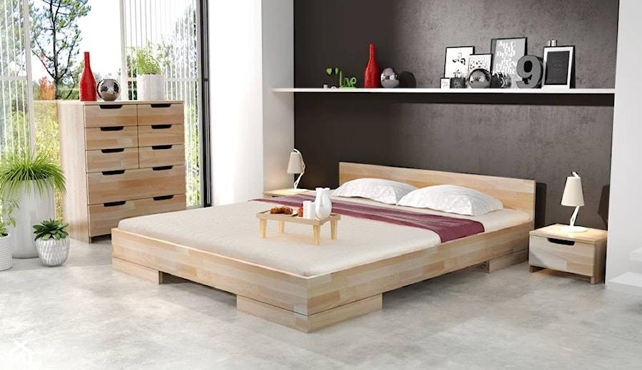 łóżko Drewniane Bukowe Skandica Spectrum Niskie Zdjęcie Od