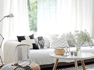 INSPIRACJE STYLEM: Skandynawski salon (Scandinavian Living Room)