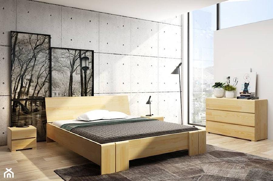 łóżko Drewniane Sosnowe Skandica Vestre Maxi Zdjęcie Od
