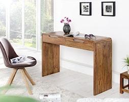 Drewniane biurko z szufladami GOA, 120 cm - zdjęcie od onemarket.pl - meble i dodatki