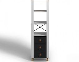 Drewniany regał Visby VAXHOLM 3S z trzema szufladami - zdjęcie od onemarket.pl - meble i dodatki - Homebook