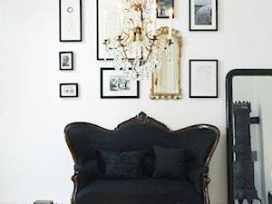 INSPIRACJE STYLEM: Salon Glamour (Glamour Living Room)