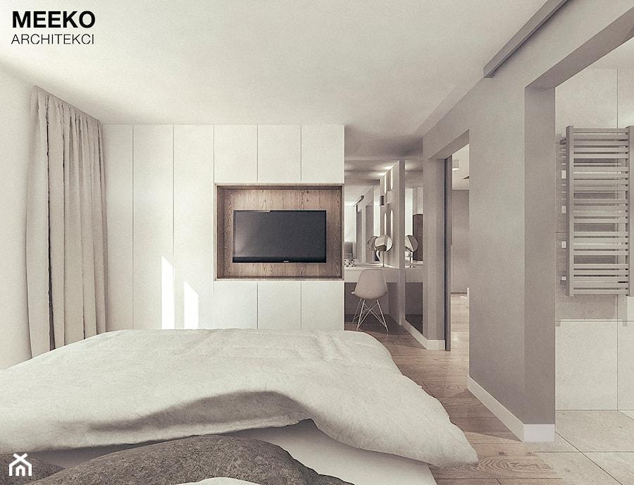 Dom w stylu minimalistycznym - Sypialnia, styl minimalistyczny - zdjęcie od MEEKO Architekci