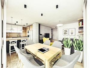 Mieszkanie w stylu skandynawskim pod Rzeszowem.