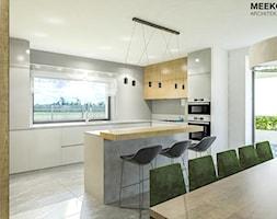 Dom w stylu nowoczesnym w Mielcu. - Kuchnia, styl nowoczesny - zdjęcie od MEEKO Architekci - Homebook