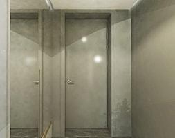 Dom w stylu nowoczesnym w Mielcu. - Średni szary hol / przedpokój, styl nowoczesny - zdjęcie od MEEKO Architekci - Homebook