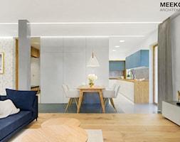 Mieszkanie w stylu nowoczesnym w Rzeszowie. - Jadalnia, styl nowoczesny - zdjęcie od MEEKO Architekci - Homebook