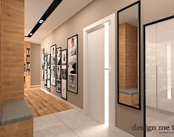 GRAZIOSO APARTAMENTY - Średni beżowy hol / przedpokój, styl nowoczesny - zdjęcie od design me too