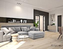 STARE BABICE DOM 100 M2 - Salon, styl skandynawski - zdjęcie od design me too - Homebook
